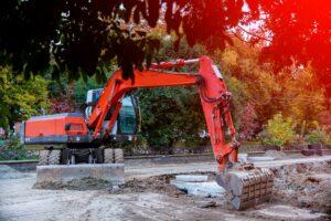 Lej en gravemaskine med fører eller uden fører København døgnvagt - Se gravmand priser